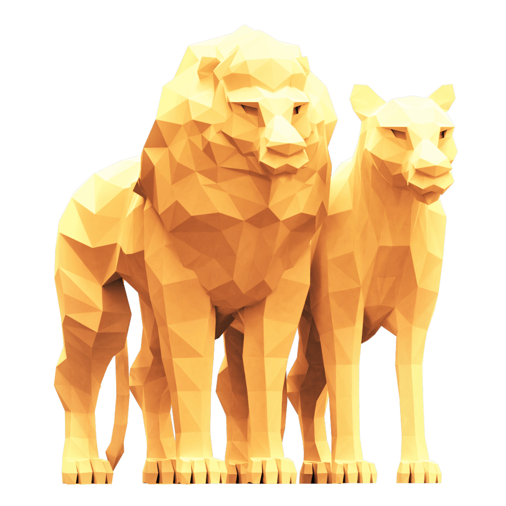 FFOTM 0620 // Lion 3D Model Free